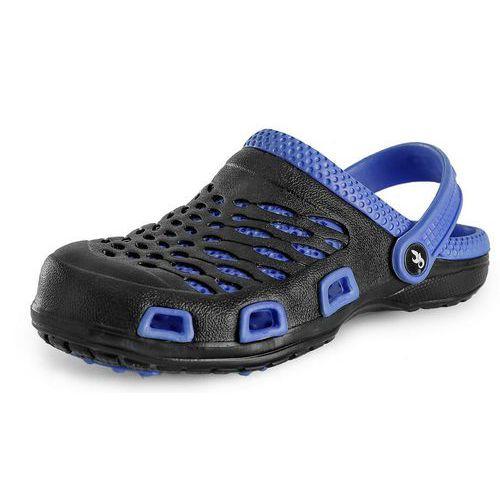 CXS Trend férfi papucs, fekete/kék