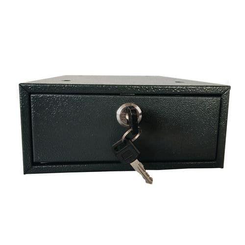 Hordozható biztonsági széf Mini hengerzárral