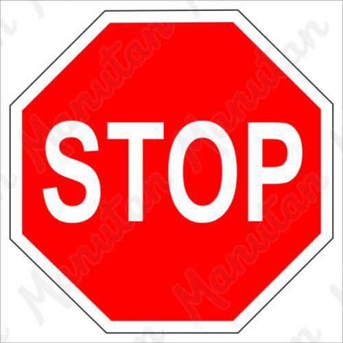 Figyelmeztető táblák - STOP