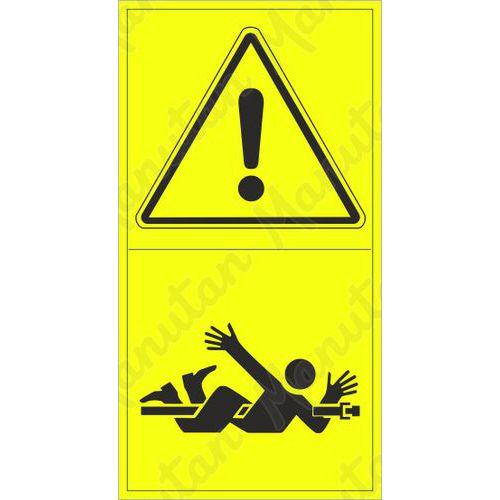 Figyelmeztető táblák - Forgó tengely veszélye