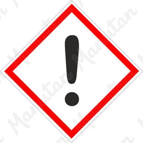 GHS figyelmeztető táblák - Irritáló 07