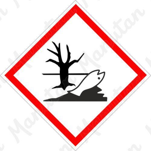 GHS figyelmeztető táblák - Környezetre ártalmas 09