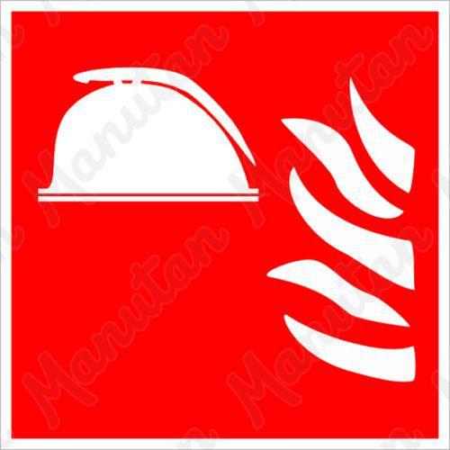 Tűzvédelmi táblák - Tűzoltóállomás