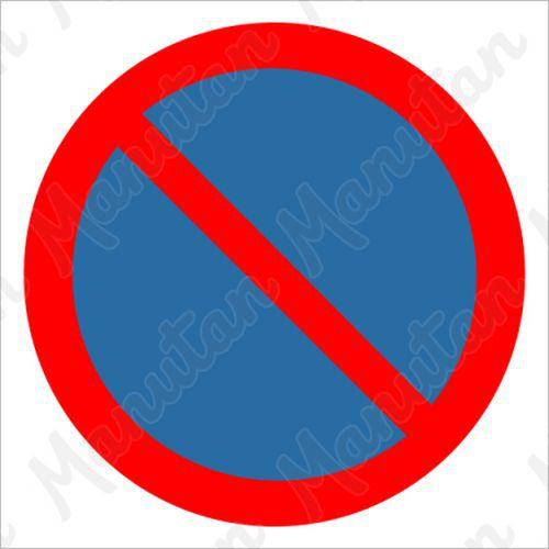 Tiltó táblák - Várakozni tilos