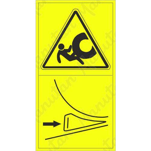 Figyelmeztető táblák - A gép mozgás elleni biztosítása