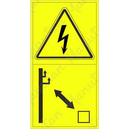 Figyelmeztető táblák - Elektromos áram