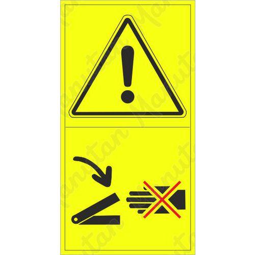 Figyelmeztető táblák - Ne nyúljon ebbe a térbe
