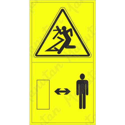 Figyelmeztető táblák - Repülő tárgy okozta sérülés veszélye