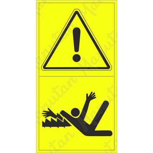 Figyelmeztető táblák - A karok gépbe csavarodásának veszélye