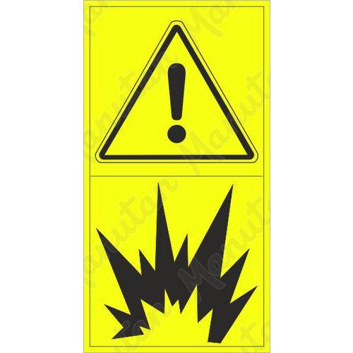Figyelmeztető táblák - Robbanásveszély