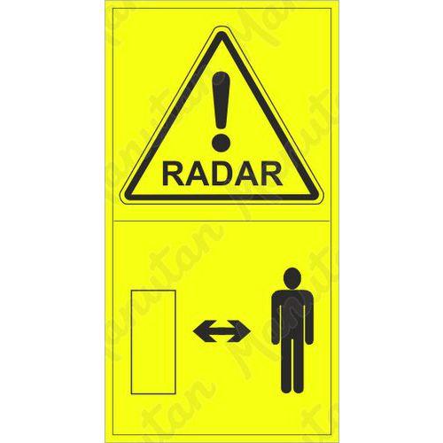 Figyelmeztető táblák - Radar