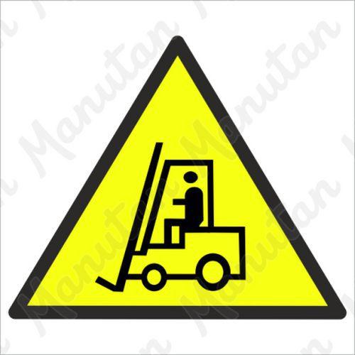Figyelmeztető táblák - Vigyázat targonca