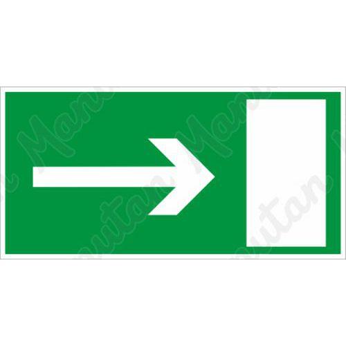 Biztonsági táblák - Vészkijárat
