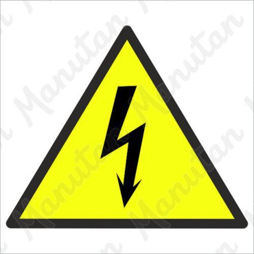 Figyelmeztető táblák - Elektromos feszültség