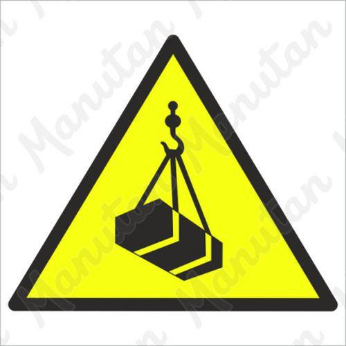 Figyelmeztető táblák - Hulló teher veszélye