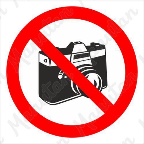 Tiltó táblák - Fényképezni tilos