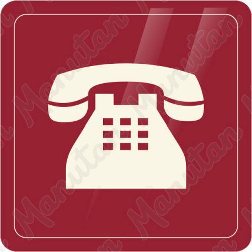 Információs táblák - Telefon