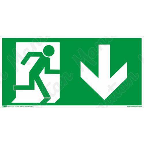 Biztonsági táblák, fotolumineszcens - Vészkijárat