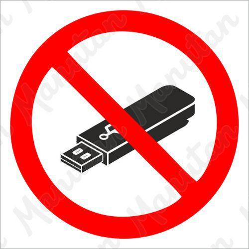 Tiltó táblák - Hordozható adatrögzítő használata tilos