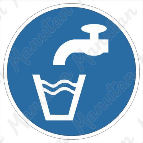 Munkavédelmi tábla - Ivóvíz