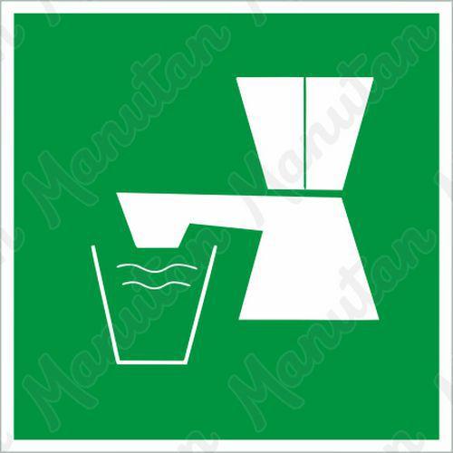 Biztonsági táblák - Ivóvíz