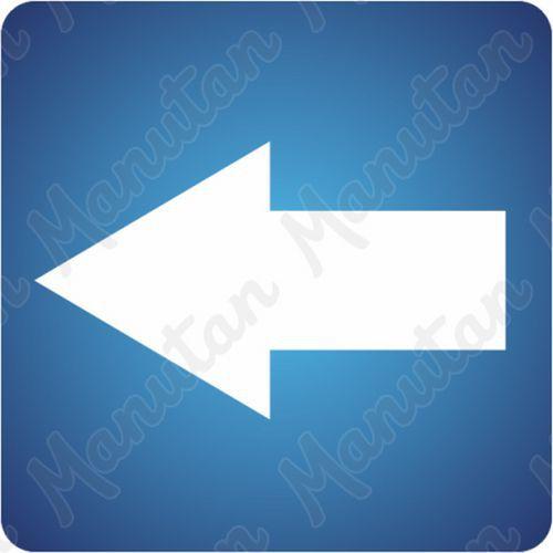Információs táblák - Iránynyíl