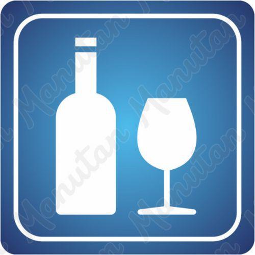 Információs tábla - Bár, vendéglő, étterem, italok