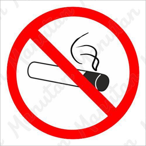 Tiltó táblák - Dohányozni tilos