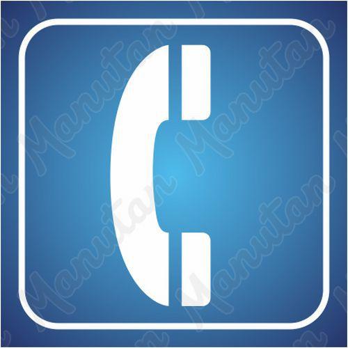 Információs tábla - Telefon