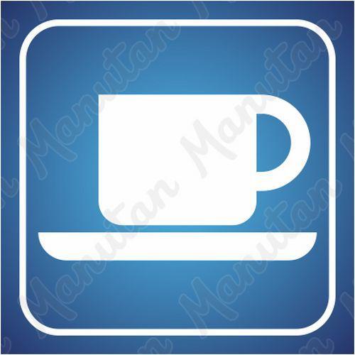 Információs tábla - Kávézó