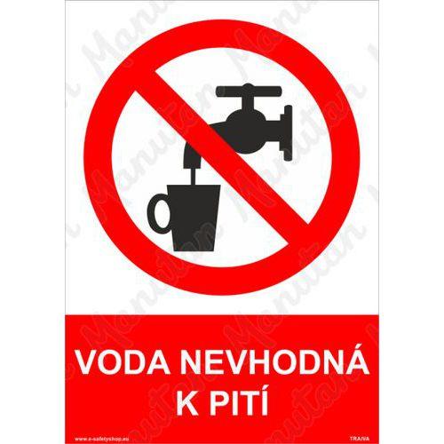 Tiltó biztonsági táblák - Nem ivóvíz