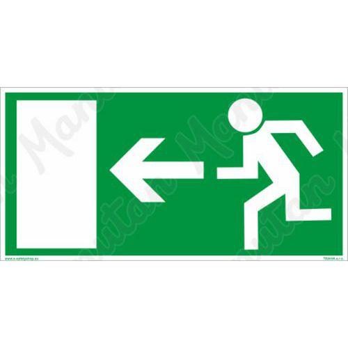 Biztonsági táblák - Vészkijárat balra