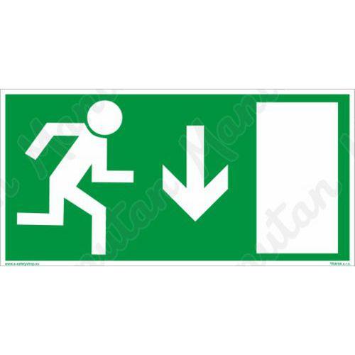 Biztonsági táblák - Vészkijárat ajtó fölé