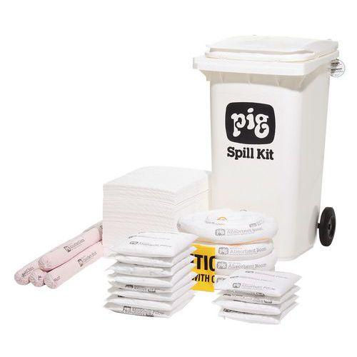 Kármentesítő készlet, hordozható, Pig, víztaszító, elnyelési kapacitás 168 l