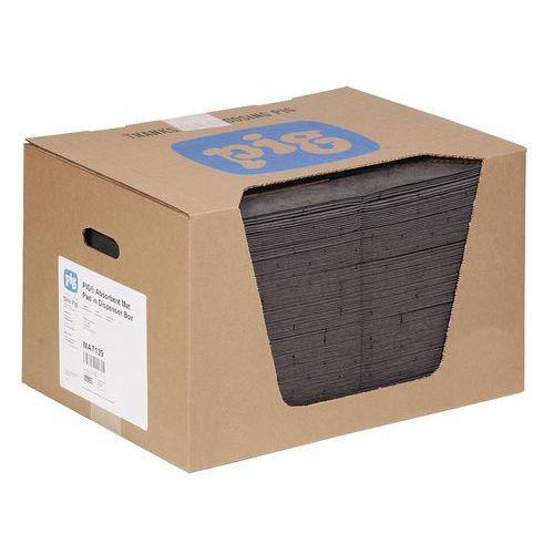Felitató szőnyegek MD+ kartondobozban Pig, univerzális, elnyelési kapacitás 84 l, 125 db