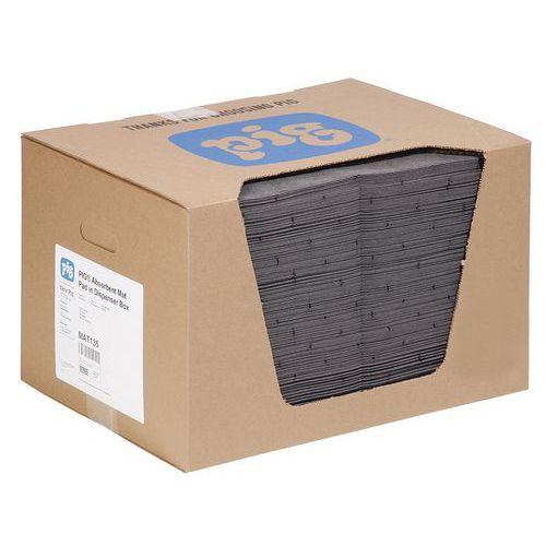 Felitató zőnyegek MD+ kartondobozban Pig, univerzális, elnyelési kapacitás 84 l, 200 db