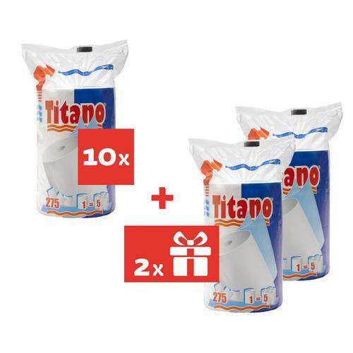 Celtex Titano XXL 2 rétegű konyhai papírtörlők, 275 lap, 10 db + 2 db AJÁNDÉK