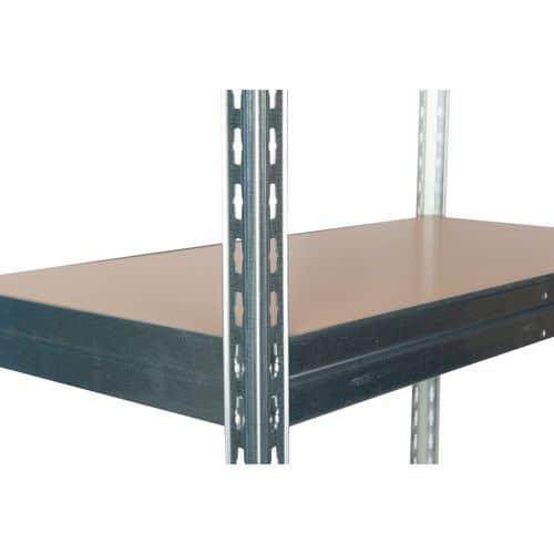 Kiegészítő farostlemez polcok, 120 cm, 265 kg, horganyzott