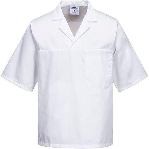 Pék ing, fehér