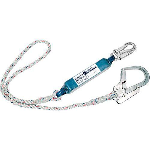 Energiaelnyelő kötél, fehér