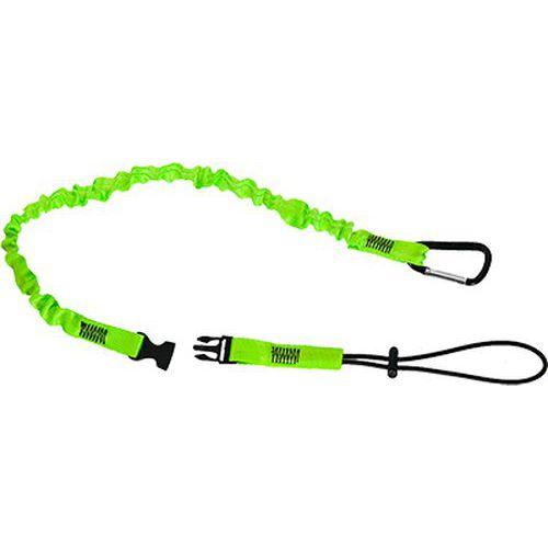 Csatos szerszámtartó kötél, zöld