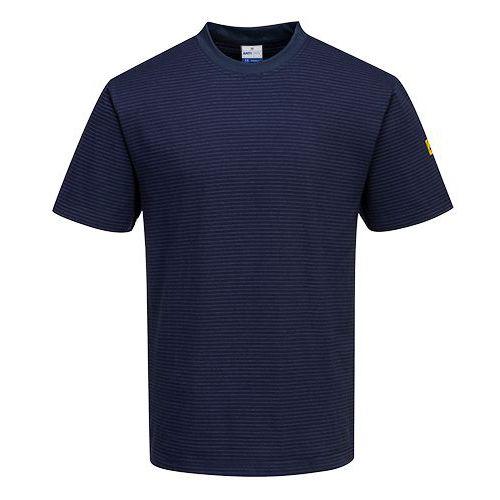 Antisztatikus ESD póló, sötétkék