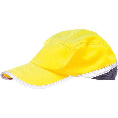 Hi-Vis Baseball sapka, kék/sárga