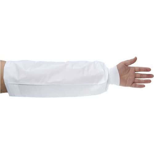 BizTex Microporous karvédő kötött mandzsettával Type PB[6], fehér