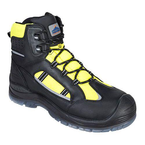 Portwest Compositelite Retroglo Hi-Vis bakancs S3 WR ESD, sárga