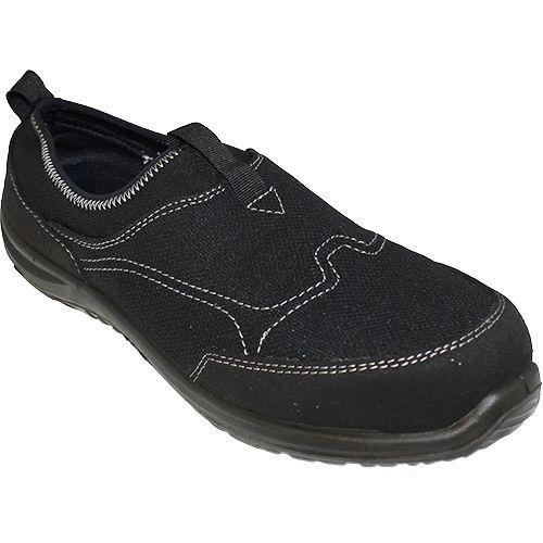 Steelite Tegid Slip On Trainer S1P, fekete