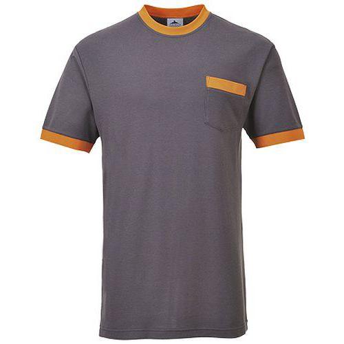Portwest Texo kontraszt póló, szürke