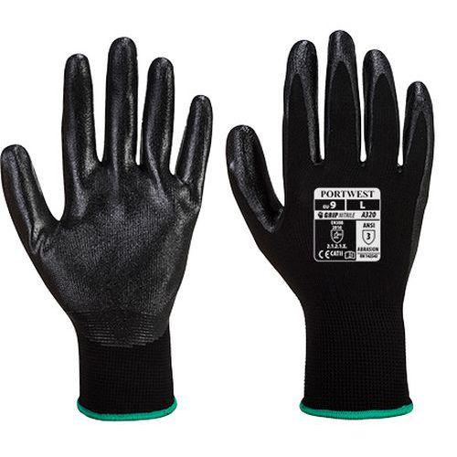 Dexti-Grip kesztyű, fekete