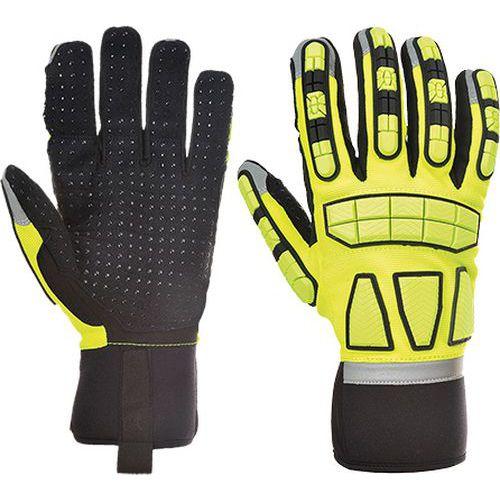 Safety Impact védőkesztyű, sárga