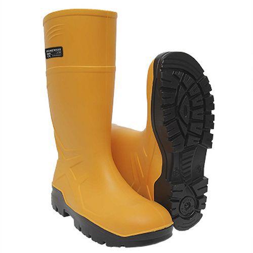 PU védőcsizma S5 CI FO, sárga